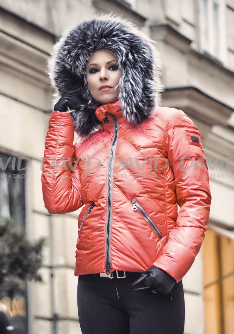 detail Women's Ski Jacket High Society Mary