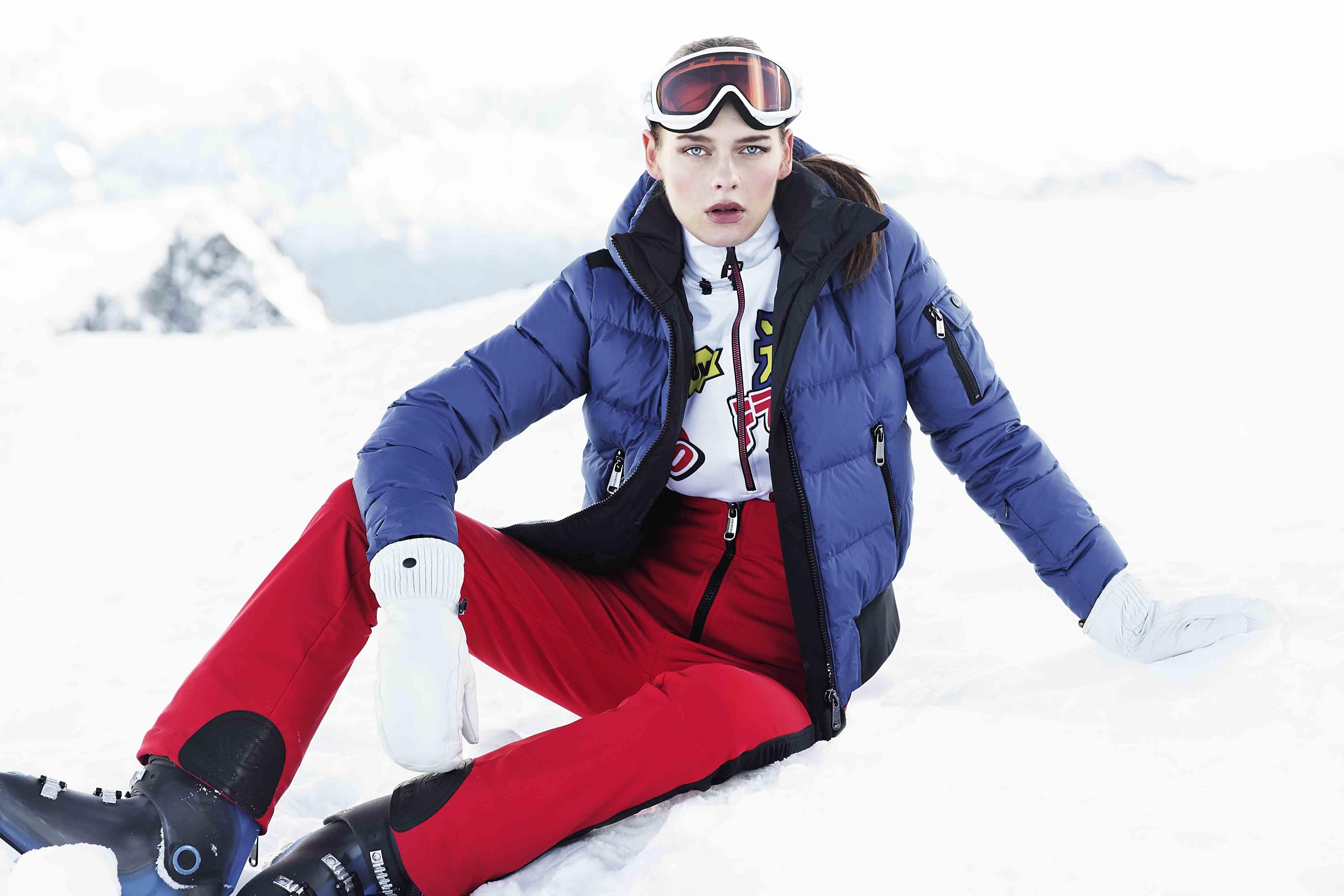 Damskie spodnie Goldbergh Koto red | David sport Harrachov