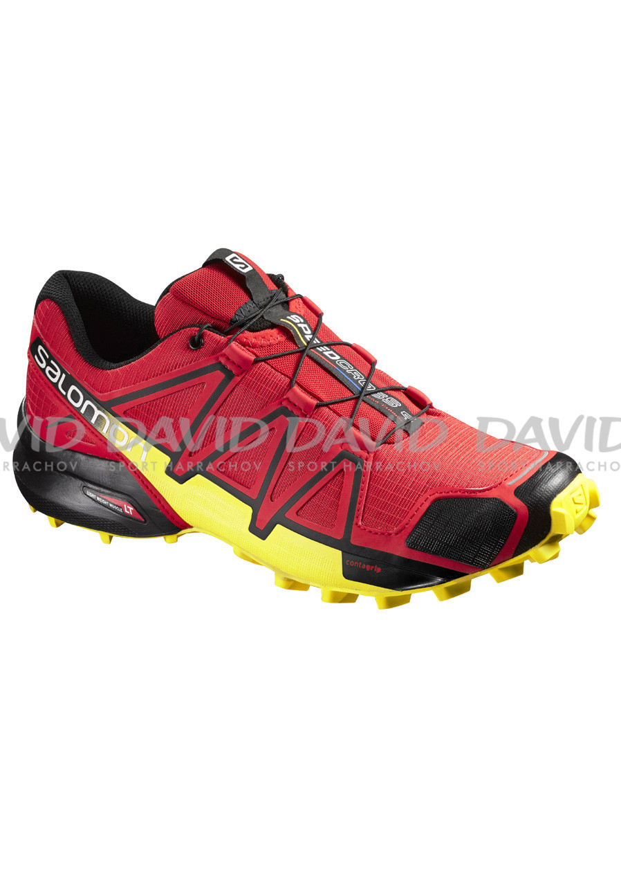 Buty do biegania męskie Salomon Speedcross 4 Radiant Red/Black/Yellow