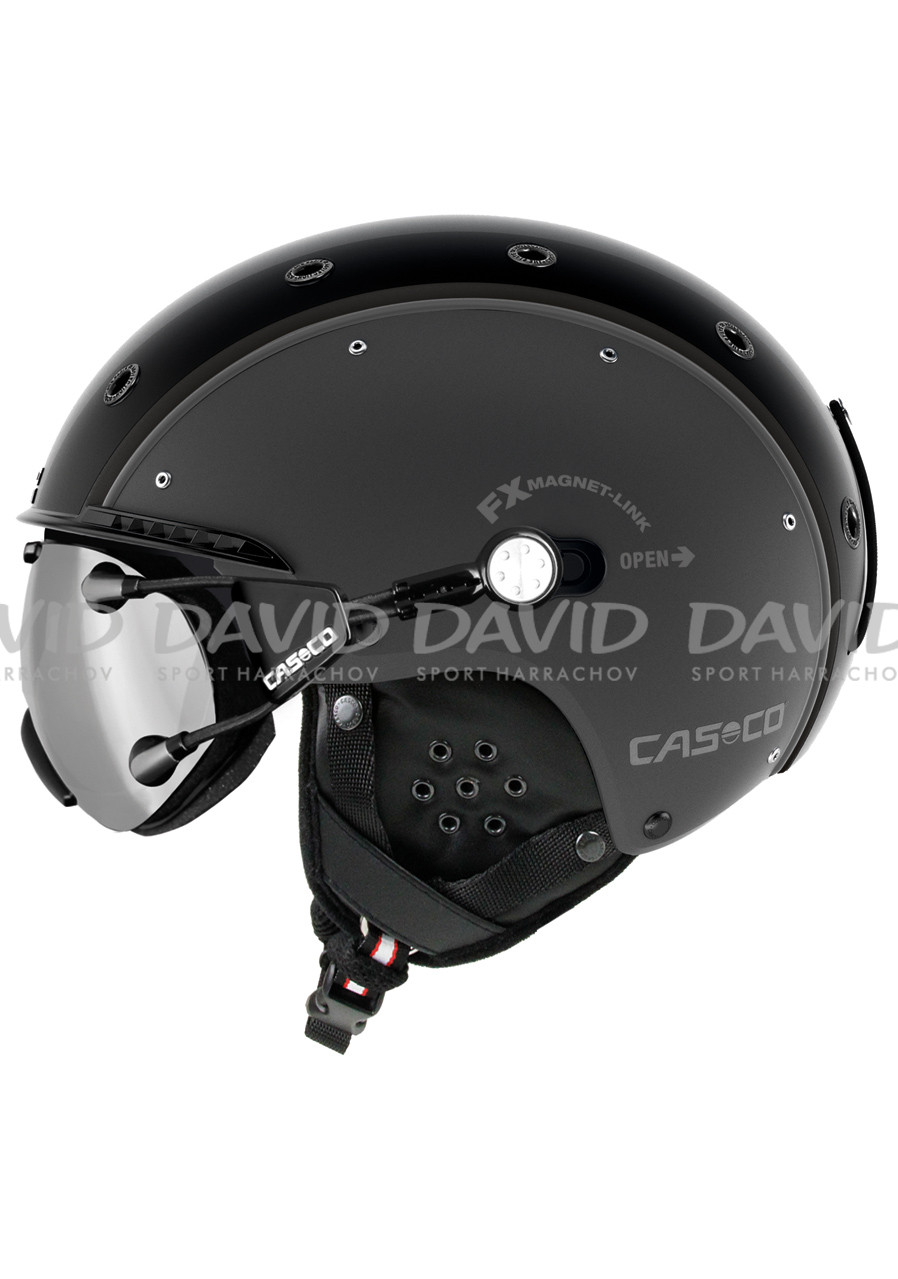 detail Casco SP-3 Airwolf gun metal