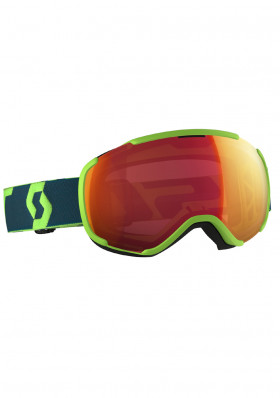 SCOTT FAZE II GREEN/BLUE ILLU RED CHR