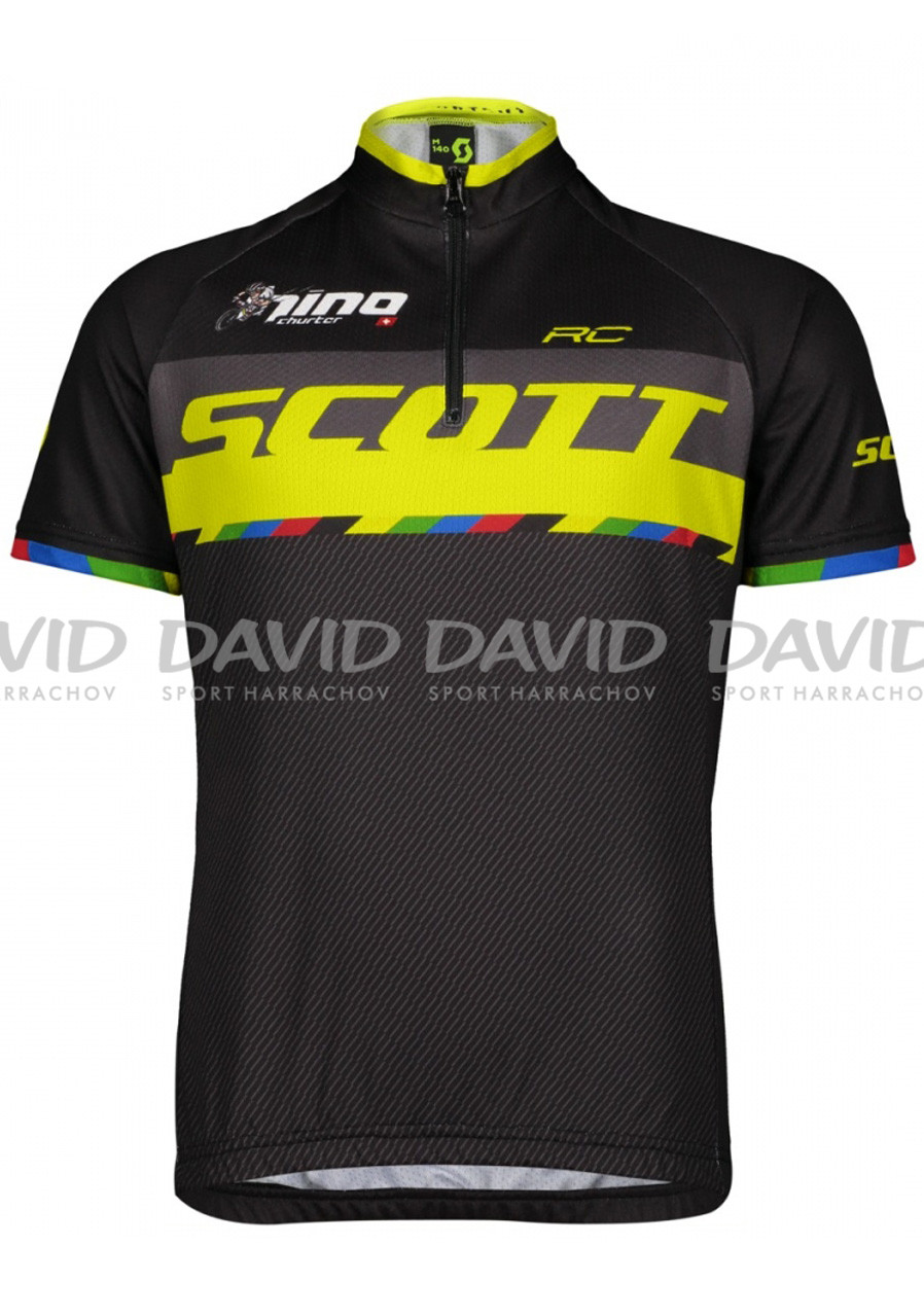Scott SCO Shirt Jr RC Pro s/sl bl su yel ni