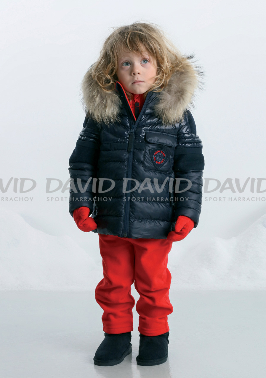 detail POIVRE BLANC W17-1215-BBBY/B Padded Jacket 4-7